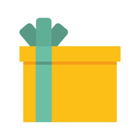 giftbox present isolated icon vector illustration design Stock Vector - 80109163