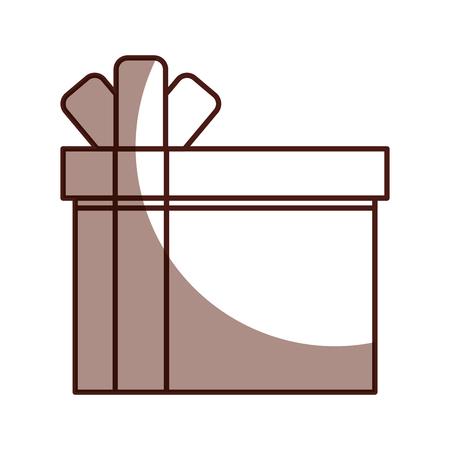 giftbox present isolated icon vector illustration design Stock Vector - 80110045