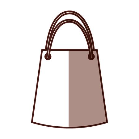 paper gift bag icon vector illustration design