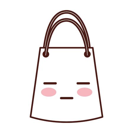 paper gift bag character vector illustration design Illustration
