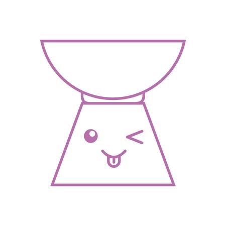 Pebble Aromatherapy kawaii character vector illustration design