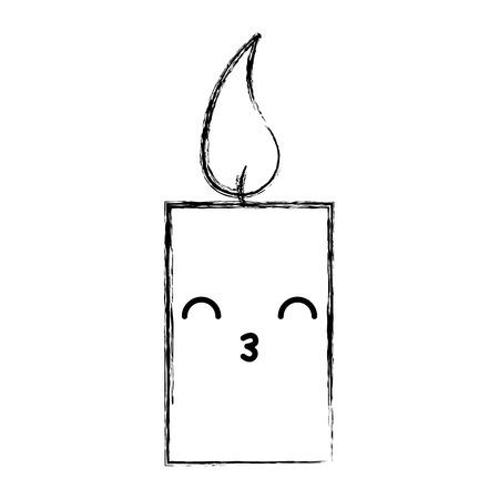 香り療法ろうそくスパ文字ベクトル イラスト デザイン  イラスト・ベクター素材