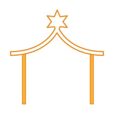 分離された安定したマネージャーのアイコン ベクトル イラスト デザイン  イラスト・ベクター素材
