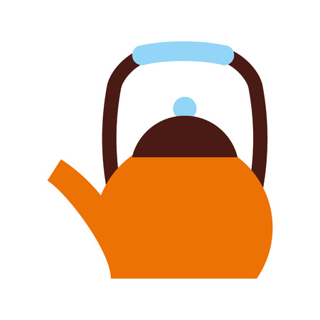 teaspoon: coffee teapot isolated icon vector illustration design