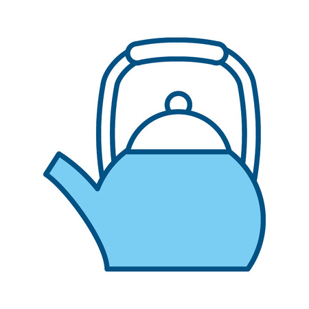 A coffee teapot isolated icon vector illustration design. Ilustração