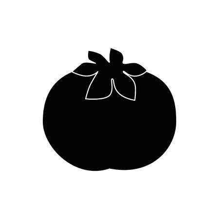 Tomate vegetales frescos icono ilustración vectorial diseño gráfico Foto de archivo - 80196355