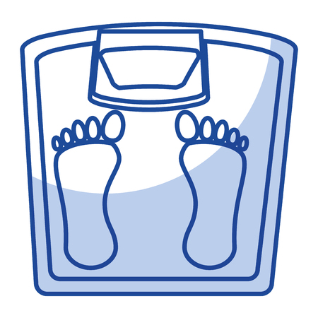 weight balance bathroom icon vector illustration design