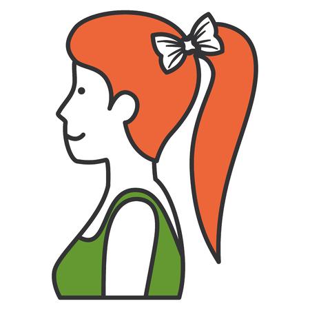 woman with sport wear vector illustration design Stok Fotoğraf - 80203654