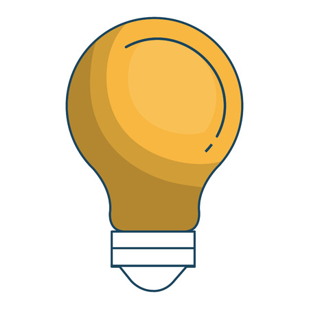 bulb light isolated icon vector illustration design Illustration