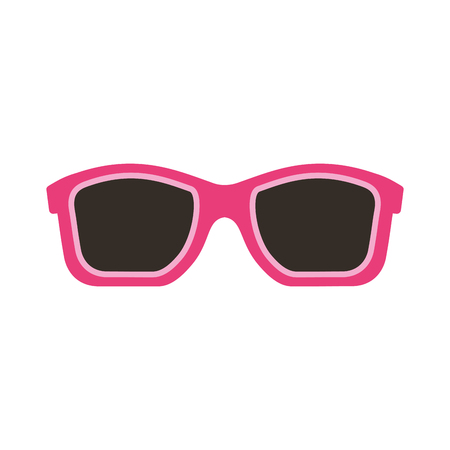 summer sunglasses isolated icon vector illustration design