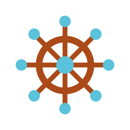 boat timon isolated icon vector illustration design Illustration