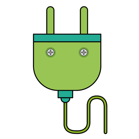 energy plug isolated icon vector illustration design