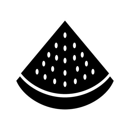 수박 열대와 이국적인 과일 벡터 일러스트 레이션 디자인 일러스트