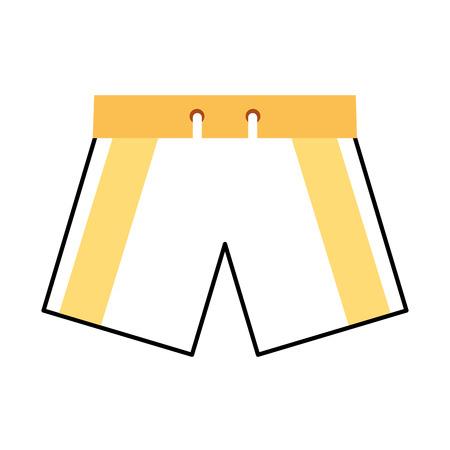 male Swimwear isolated icon vector illustration design Stock fotó - 80258484