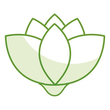 Leafs plante écologie icône illustration vectorielle conception Banque d'images - 80239915