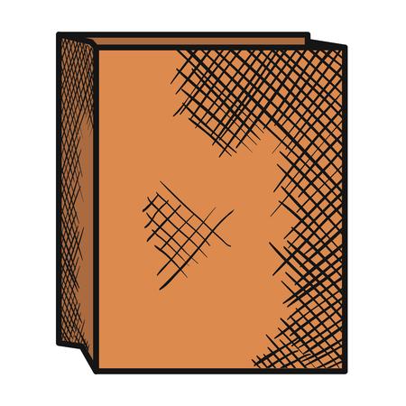 Paper bag for bread vector illustration design Stock Vector - 80241586
