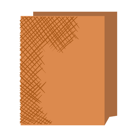 Paper bag for bread vector illustration design Illustration