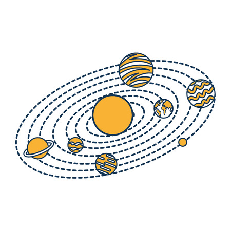 L'univers Milky Way background vector illustration design