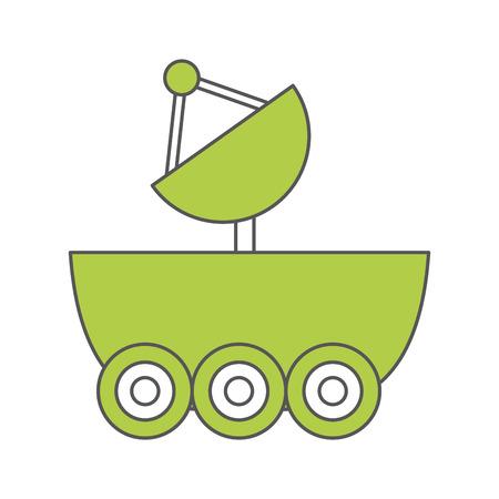 Illustrazione vettoriale illustrazione icona di auto di ottimizzazione Archivio Fotografico - 80255162