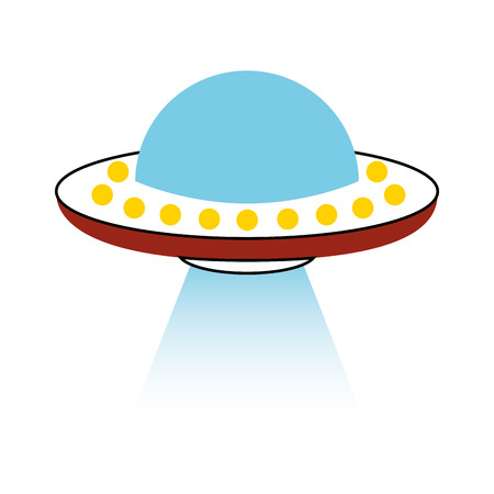 unidentified flying object icon vector illustration design 版權商用圖片 - 80263016