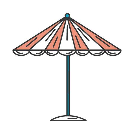 ビーチ傘夏アイコン ベクトル イラスト デザイン 写真素材 - 80262721