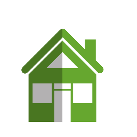 An exterior house isolated icon vector illustration design. Illustration