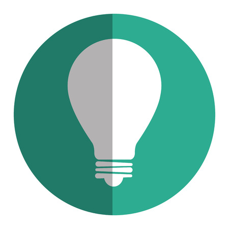 halogen: A bulb light isolated icon vector illustration design.