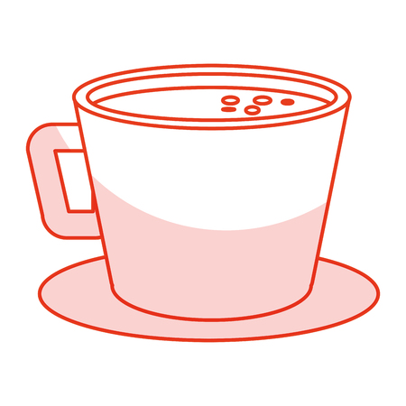 ilustration: coffee cup isolated icon vector ilustration design Illustration