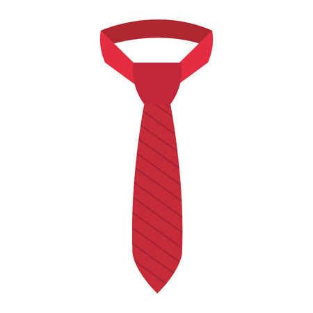 elegant tie isolated icon vector illustration design