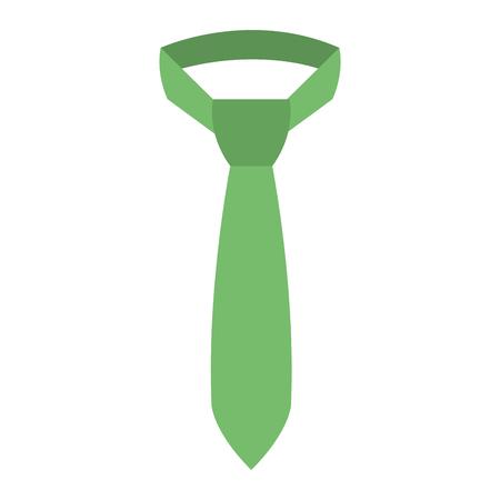 elegant tie isolated icon vector illustration design
