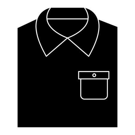 Men stylish outfit icon vector illustration design