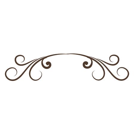 Elegantes viktorianisches Designvektor-Illustrationsdesign Standard-Bild - 80338582
