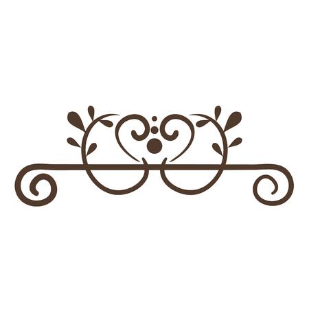 Elegantes viktorianisches Designvektor-Illustrationsdesign Standard-Bild - 80338683