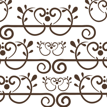 victorian wallpaper: Elegant Victorian style background vector illustration design