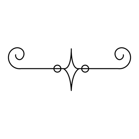 Elegantes viktorianisches Designvektor-Illustrationsdesign Standard-Bild - 80338605