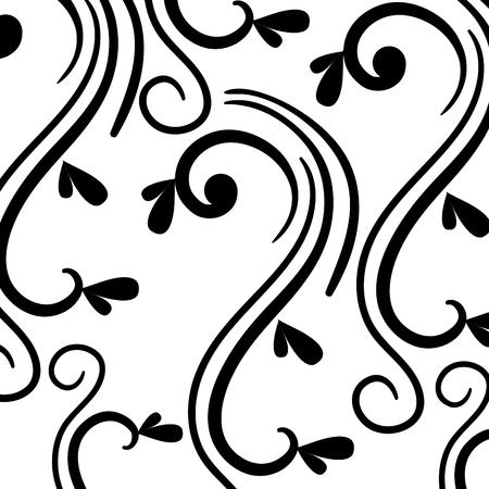 Elegantes viktorianisches Arthintergrundvektor-Illustrationsdesign Standard-Bild - 80338761