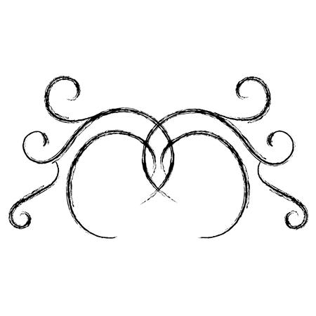 Elegantes viktorianisches Designvektor-Illustrationsdesign Standard-Bild - 80339738