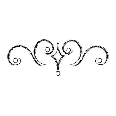 Elegant Victorian style design vector illustration design.