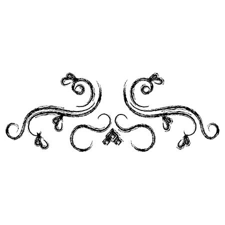 victorian wallpaper: Elegant Victorian style design vector illustration design