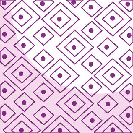 elegant geometric pattern background vector illustration design Illustration