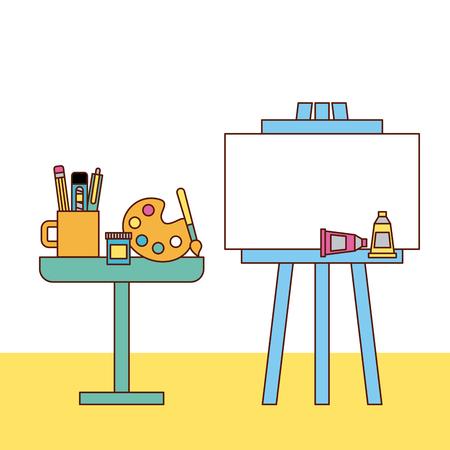 Instruments géométriques icône de l'école illustration vectorielle conception graphique Banque d'images - 80341698