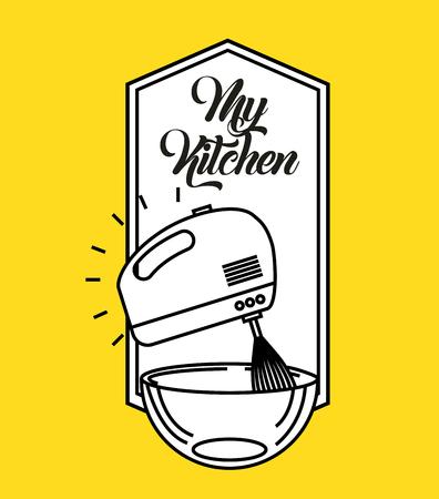 kitchen rules flat icon vector illustration design graphic 版權商用圖片 - 80346478