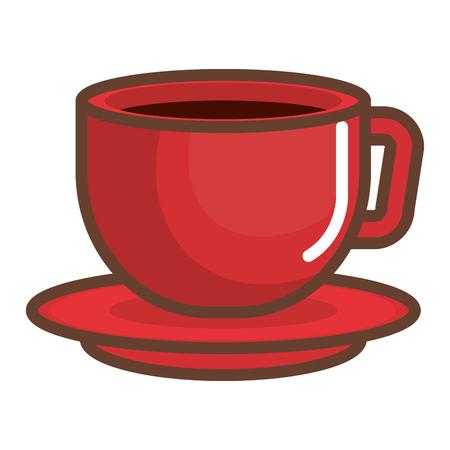 커피 컵 절연 아이콘 벡터 ilustration 디자인