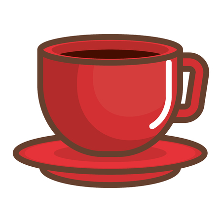 coffee cup isolated icon vector ilustration design Illustration