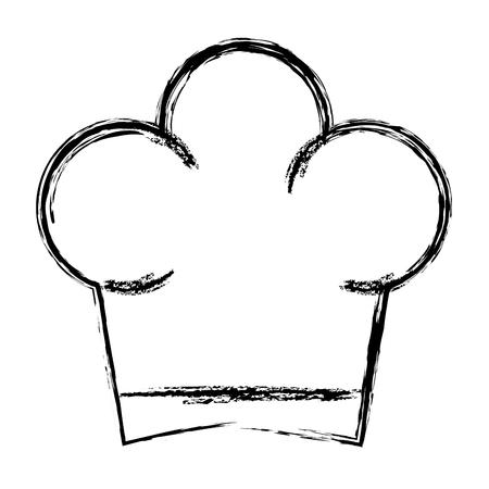 Isolated icon hat graphic job profesional uniform Ilustrace