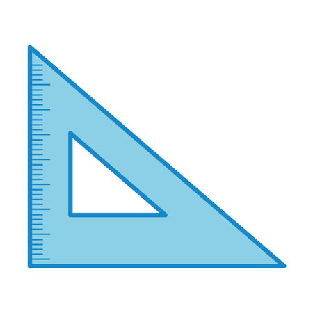 rule school isolated icon vector illustration design Illustration
