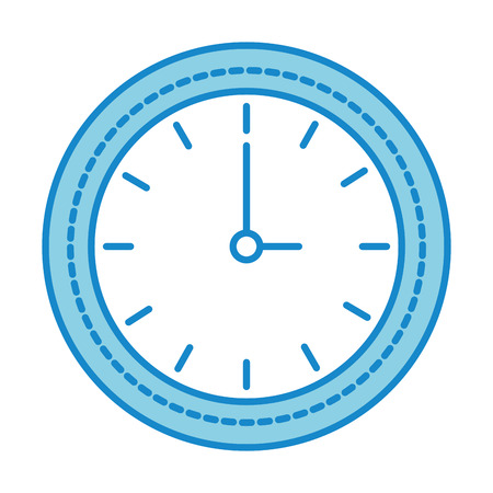 time clock isolated icon vector illustration design Иллюстрация