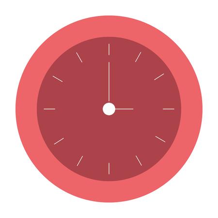 time clock isolated icon vector illustration design Фото со стока - 80375320