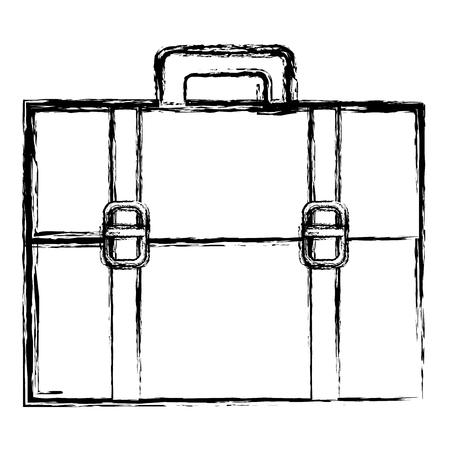 Portfolio Aktentasche isoliert Symbol Vektor-Illustration , Design , Standard-Bild - 80375355