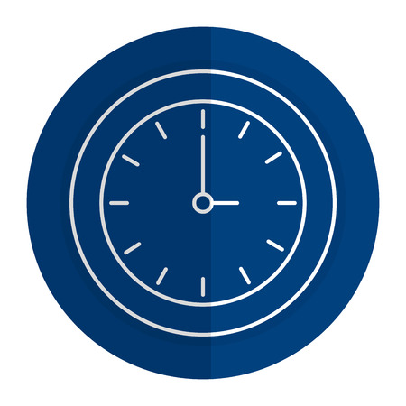 time clock isolated icon vector illustration design Фото со стока - 80375642